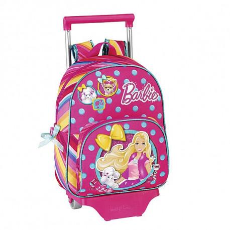 Barbie-34 CM Rädern Reisetasche Kindergärten High-End - Binder