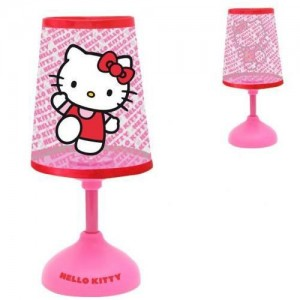 lampe veilleuse led 3d hello kitty pushlight la boutique des toons. Black Bedroom Furniture Sets. Home Design Ideas