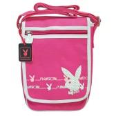 Playboy shoulder bag pink 25 CM