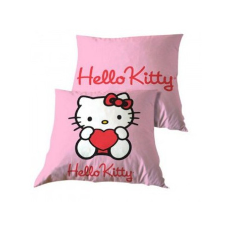 Coussin Hello Kitty Coeur