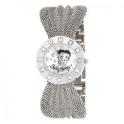 Shows Betty Boop silver mesh