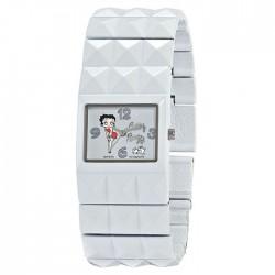 Montre Betty Boop blanche bracelet