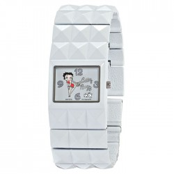 Toont Betty Boop witte armband