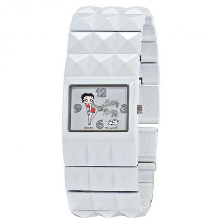 Muestra pulsera Betty Boop blanco