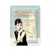 Plaque métallique Audrey Hepburn Tiffany 20 CM