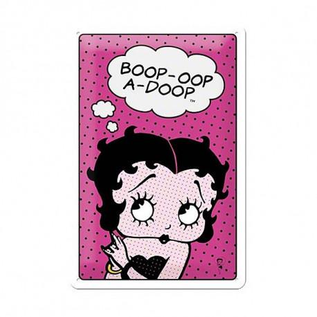 Plate metal Betty Boop BD 30 CM