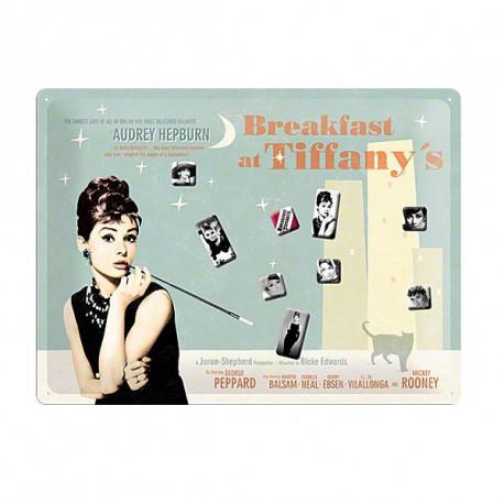 Magnet Audrey Hepburn Tiffany grand modèle 40 CM