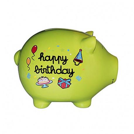 Piggy bank pig giant anniversary