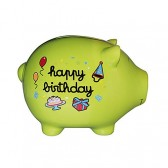 Piggy bank pig giant anniversary