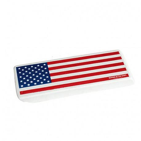 Giant gum flag USA