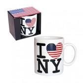 """Mug mini USA """"I love New York"""""""