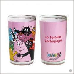 Glas Saft Barbapapa Familie