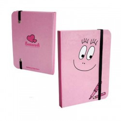 Carnet A6 Barbapapa rose