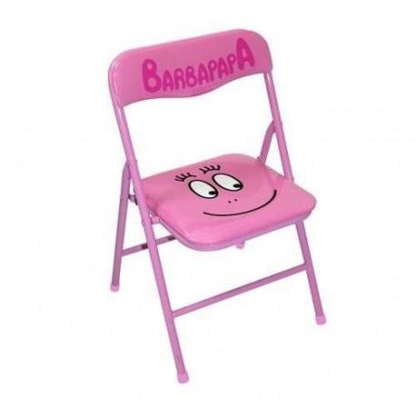 Stuhl klappbar Kind Zuckerwatte Rosa
