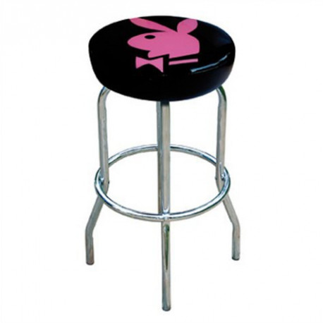 Stool Bar Playboy black