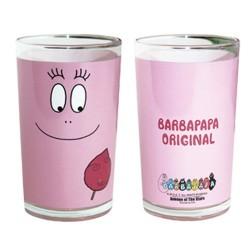 Vruchtensap glas Barbapapa origineel roze