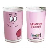 Bicchiere di succo di frutta originale Barbapapa rosa