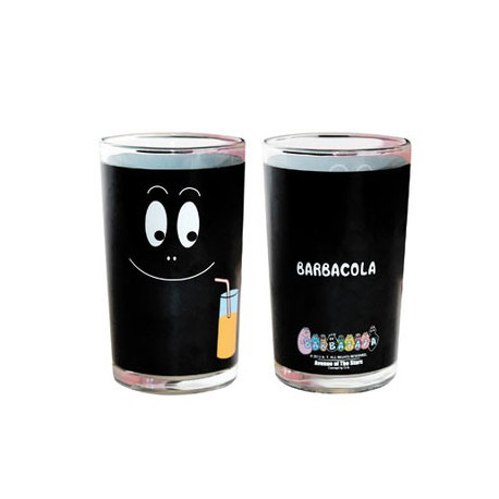 Barbouille black juice glass