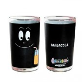Barbouille schwarz Saft Glas