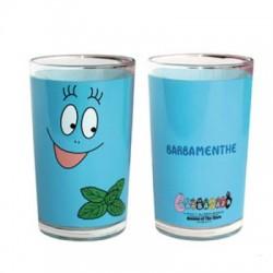 Vidrio de jugo de fruta Barbibul azul