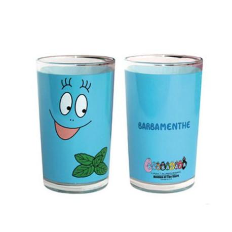 Blue fruit Barbibul juice glass