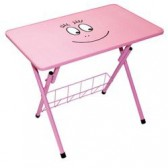 Table d'activités enfant Barbapapa rose