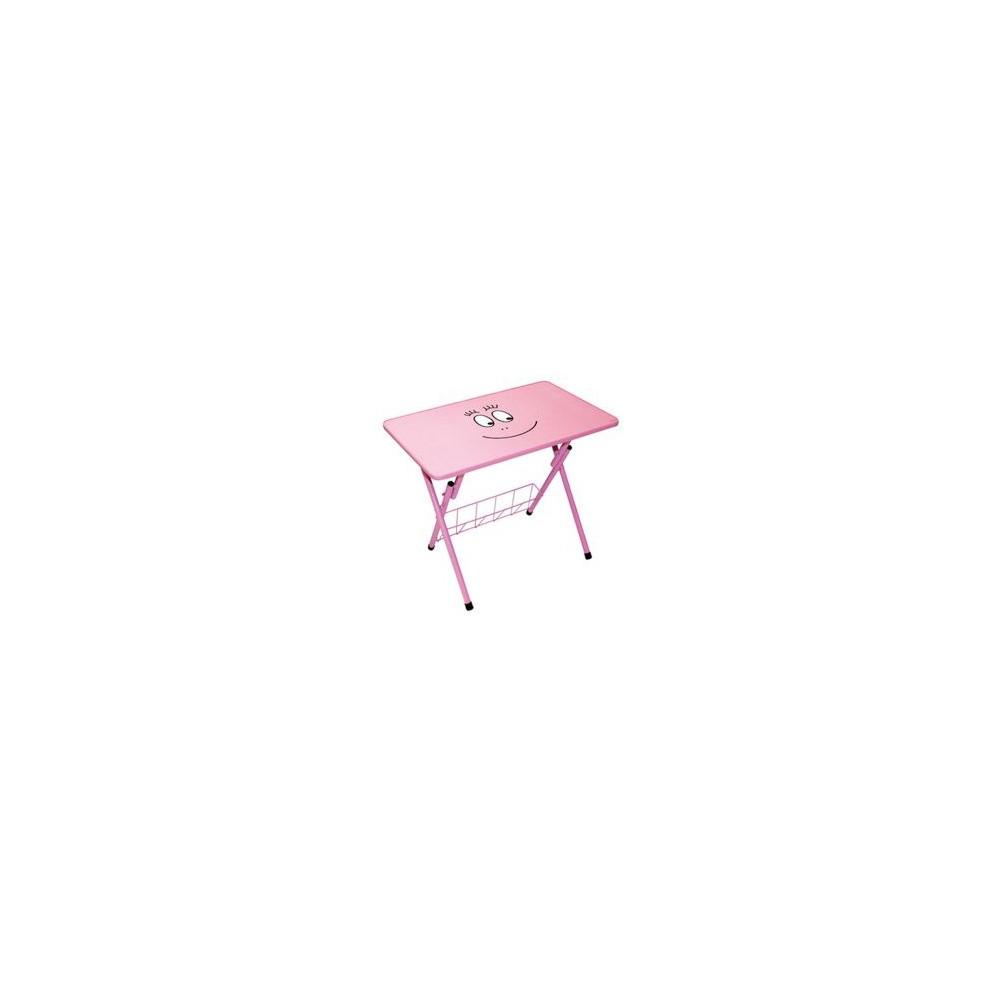 Table d 39 activit s barbapapa rose for Table d activite pour bebe