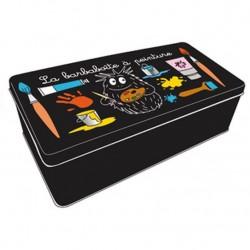 Metal rectangle Barbouille paint box