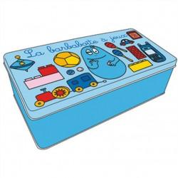 Barbabright rectangle metal box