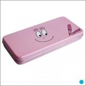 Caja lápiz rosa algodón de azúcar