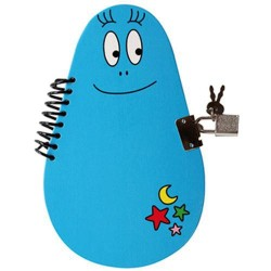 Book secret Barbibul blue