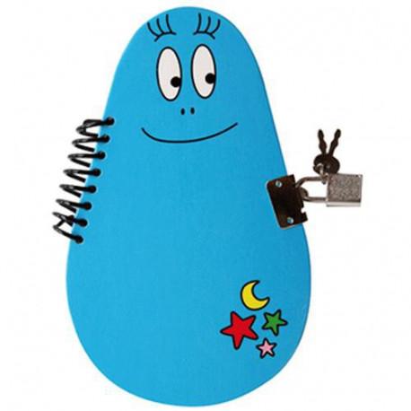 Boek geheim Barbibul blauw