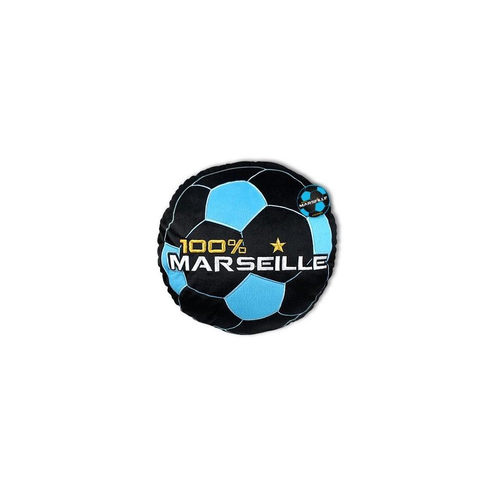 Coussin Rond 100 Marseille Noir