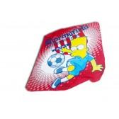 Plaid calcio di Bart Simpson