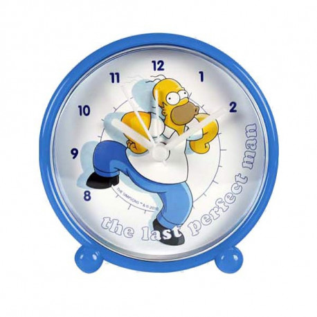 Wekker Homer Simpson pvc