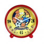 Wecker-pvc Bart Simpson Fußball gelb Hintergrund