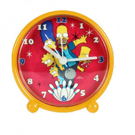 Réveil pvc Simpson Family