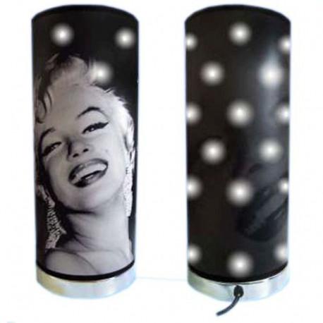 Leyenda de Marilyn Monroe de lámpara