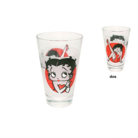 Conical glass Betty Boop Classic