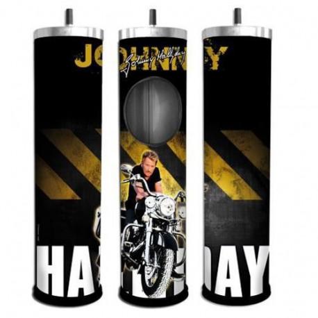 Asbak router Johnny Hallyday motorfiets