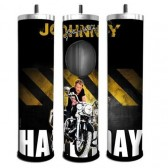 Ashtray router Johnny Hallyday motorcycle
