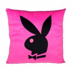 Cojín cuadrado Playboy rosa