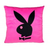 Kussen vierkant Playboy roze