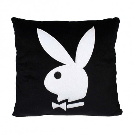 Cushion square Playboy black