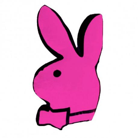 Almohada rosa de conejito de Playboy