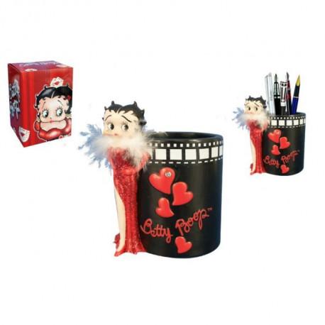 Pote de lápiz negro de la película de Betty Boop