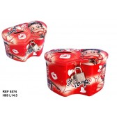 Piggy bank heart Betty Boop