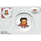 Ashtray Betty Boop glitter