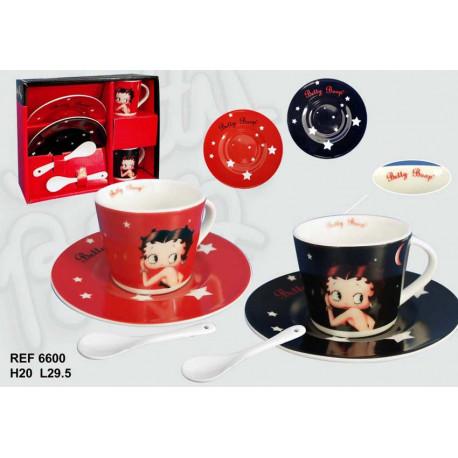 Coffret 2 tasses Betty Boop Grand modèle