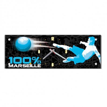 Pendule rectangle Marseille 57 CM
